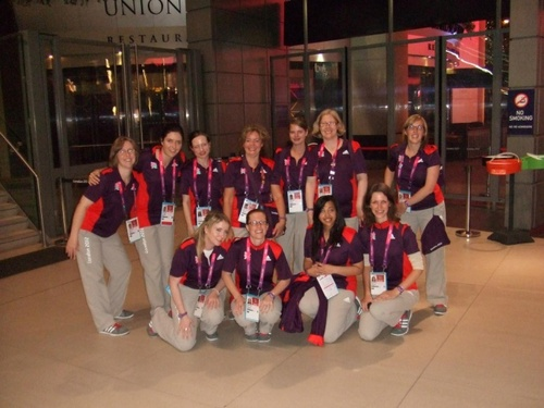 Volunteer at the London 2012 Paralympic Games