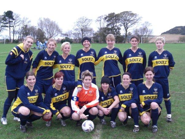 University of Hull Scarborough Campus Ladies Football Team.
