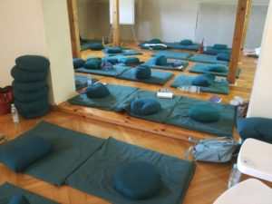 Mindfulness training room
