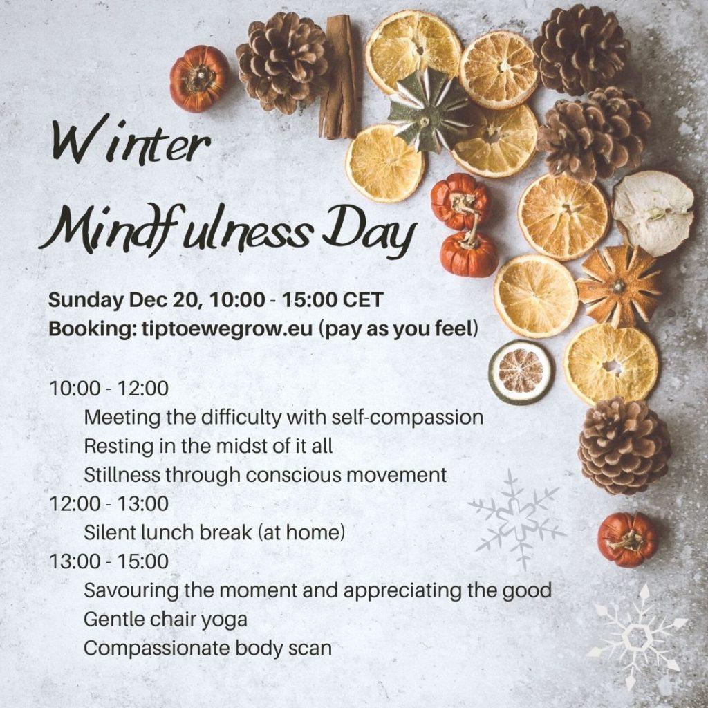 Winter mindfulness day